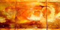 Sueño 7 | Técnica mixta sobre lienzo 40x120cm 475€