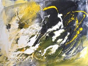 El engaño de la mente | Técnica mixta sobre lienzo 80x60cm 750€